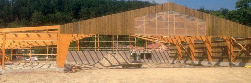 chantier construction manège equestre-abreschviller-lorraine