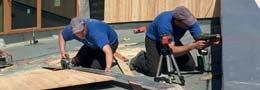 notre équipe de charpentiers