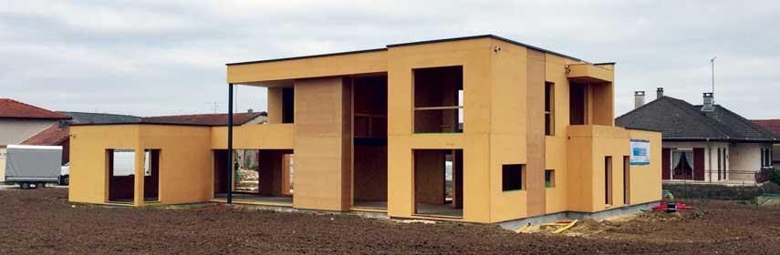 Constructeur maison individuelle tout en bois Grand-Est